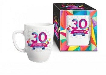 Urodzinowa geometria kubek 30 lat
