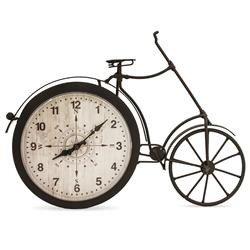 Zegar ścienny ozdobny klasyczny metal szkło