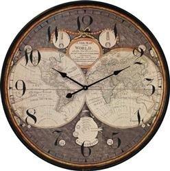 Zegar wiszący Kontynenty 80x80cm