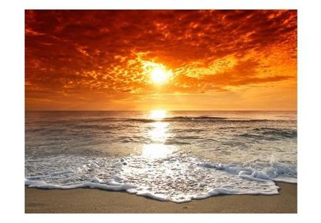 Fototapeta - Bajkowy zachód słońca