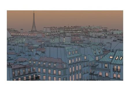 Fototapeta - Dobry wieczór Paryżu