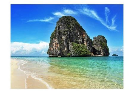 Fototapeta - Egzotyczny krajobraz - plaża Railay, Tajlandia