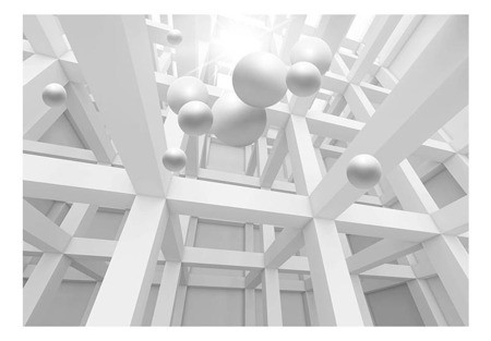 Fototapeta - Enklawa bieli