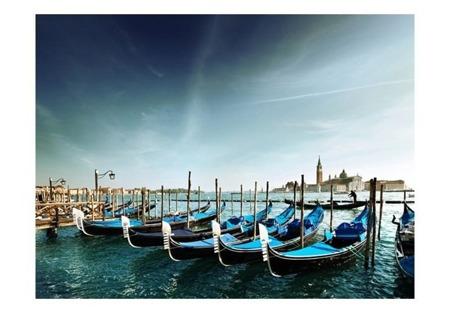 Fototapeta - Gondole na Canal Grande, Wenecja