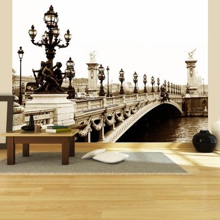 Fototapeta - Most Aleksandra III, Paryż