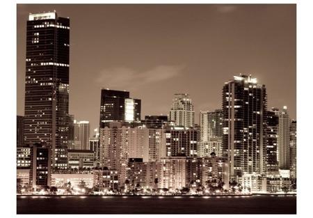 Fototapeta - Nocne życie w Miami