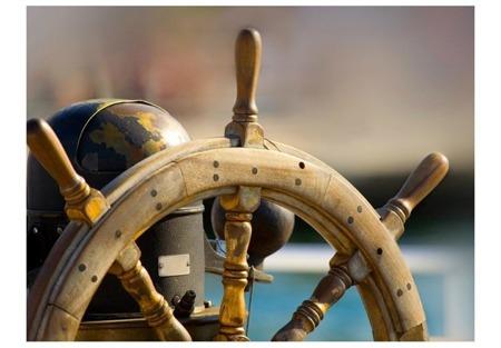 Fototapeta - Steering wheel