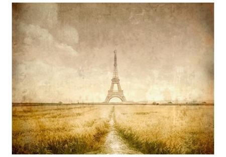 Fototapeta - Wieża Eiffla vintage