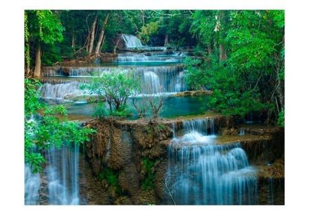 Fototapeta - Wodospad w Kanchanaburi, Tajlandia