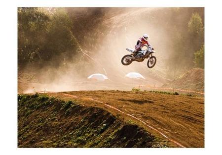 Fototapeta - Zawody motocyklowe