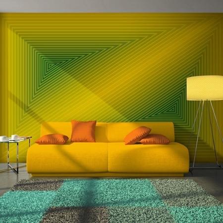 Fototapeta - trójkąt - 3D
