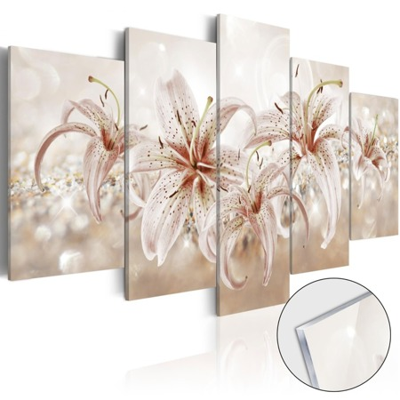 Obraz na szkle akrylowym - Muzyka delikatności [Glass]
