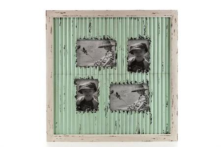 Ramka do zdjęć z metalu MAZINE Aluro 57x 57 x 2cm