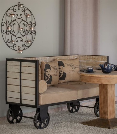 Sofa Charlie Chaplin MAZINE Aluro 155cm x 91cm x 63cm
