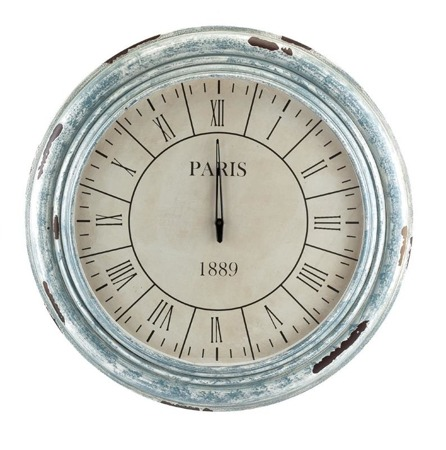 Zegar okągły MAZINE Aluro 60cm x 60cm x 4cm